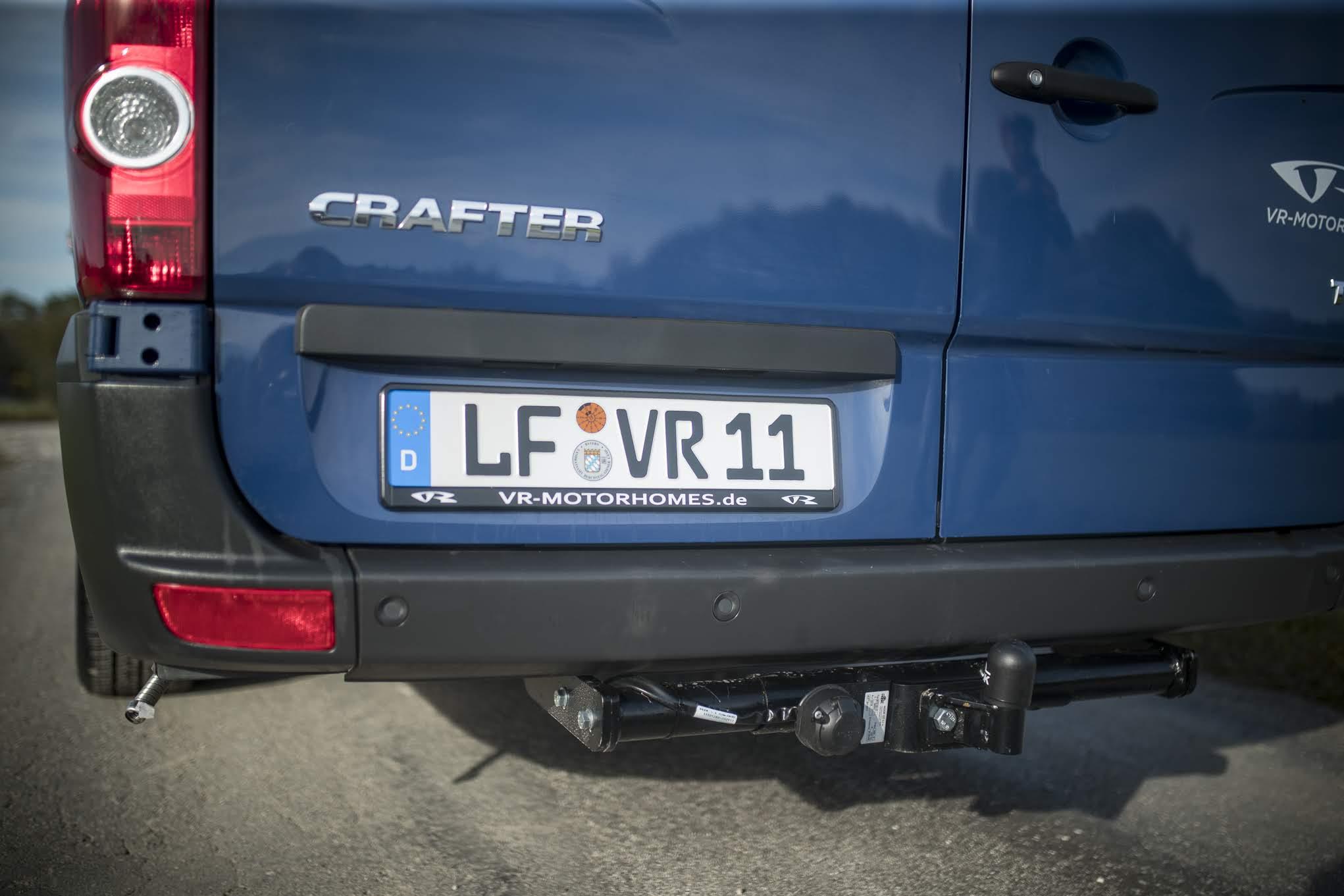 VR kastenwagen camper renntransporter racecamper luxus edition blueedition crafter VW daimler sprinter
