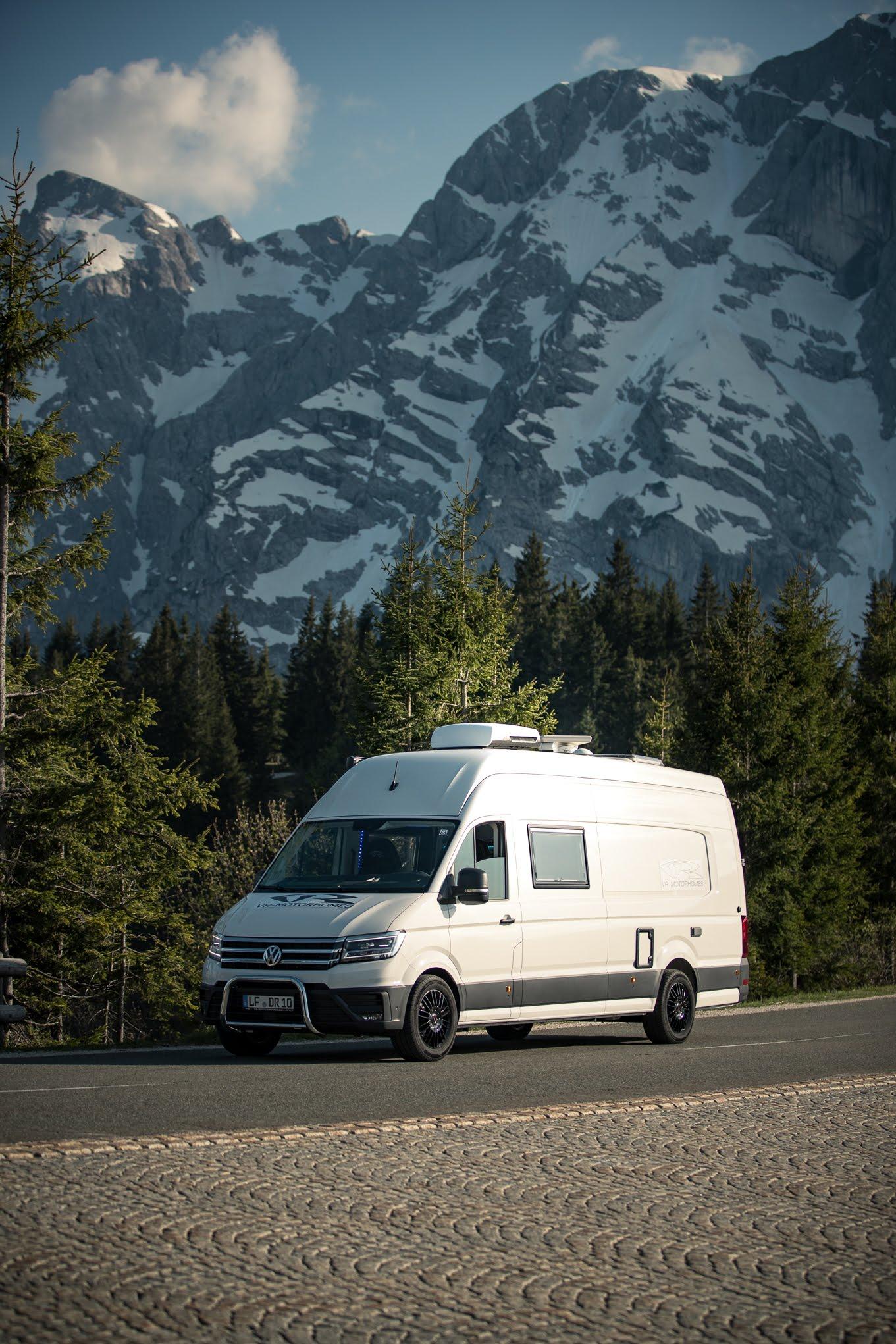 camping im kastenwagen ausgebaut umgebaut vanconversion vr-motorhomes