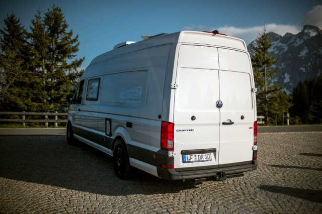 lieferwagen umgebaut in wohnmobile mehr fahrkomfort vr motorhomes vrm