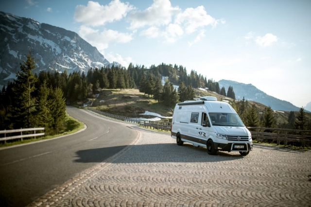 bergpanorama vr motorhomes fotos VR crafter vw crafter 2019 2020 wohnmobil