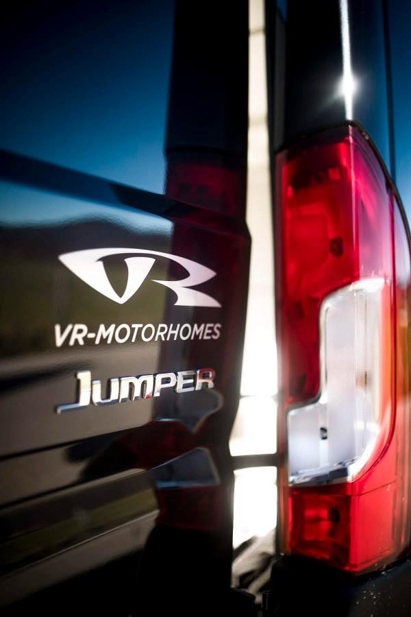 VR Logo VR motorhomes logo Valentin Rehrl design alu