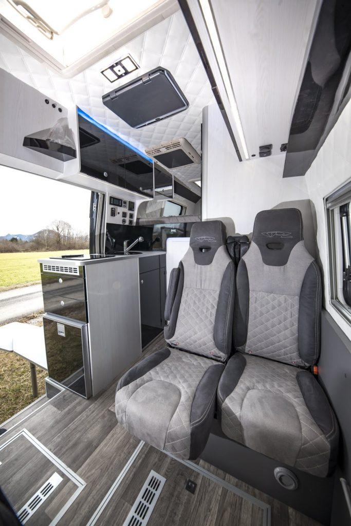 vr doppelsitzbank ultra gemütlich fiat ducato mercedes sprinter vw crafter camper kastenwagen doubleseat seatbench man tge