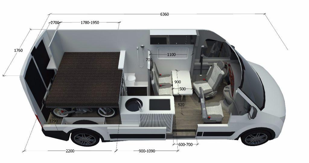 Racecamper 3D Planung