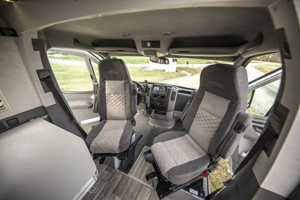 Mercedes Sprinter Motorhome Cockpit