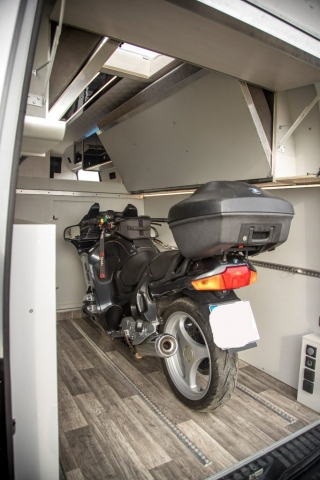 VRM Garage GS 1100 1150 1200 RT S1000XR BMW KTM Adventure garage motorrad heckgarage