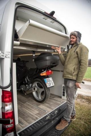 alu leichtbau bett kastenwagen klappbar aufstelldach bett für motorräder bmw gs ktm ducati multistrada
