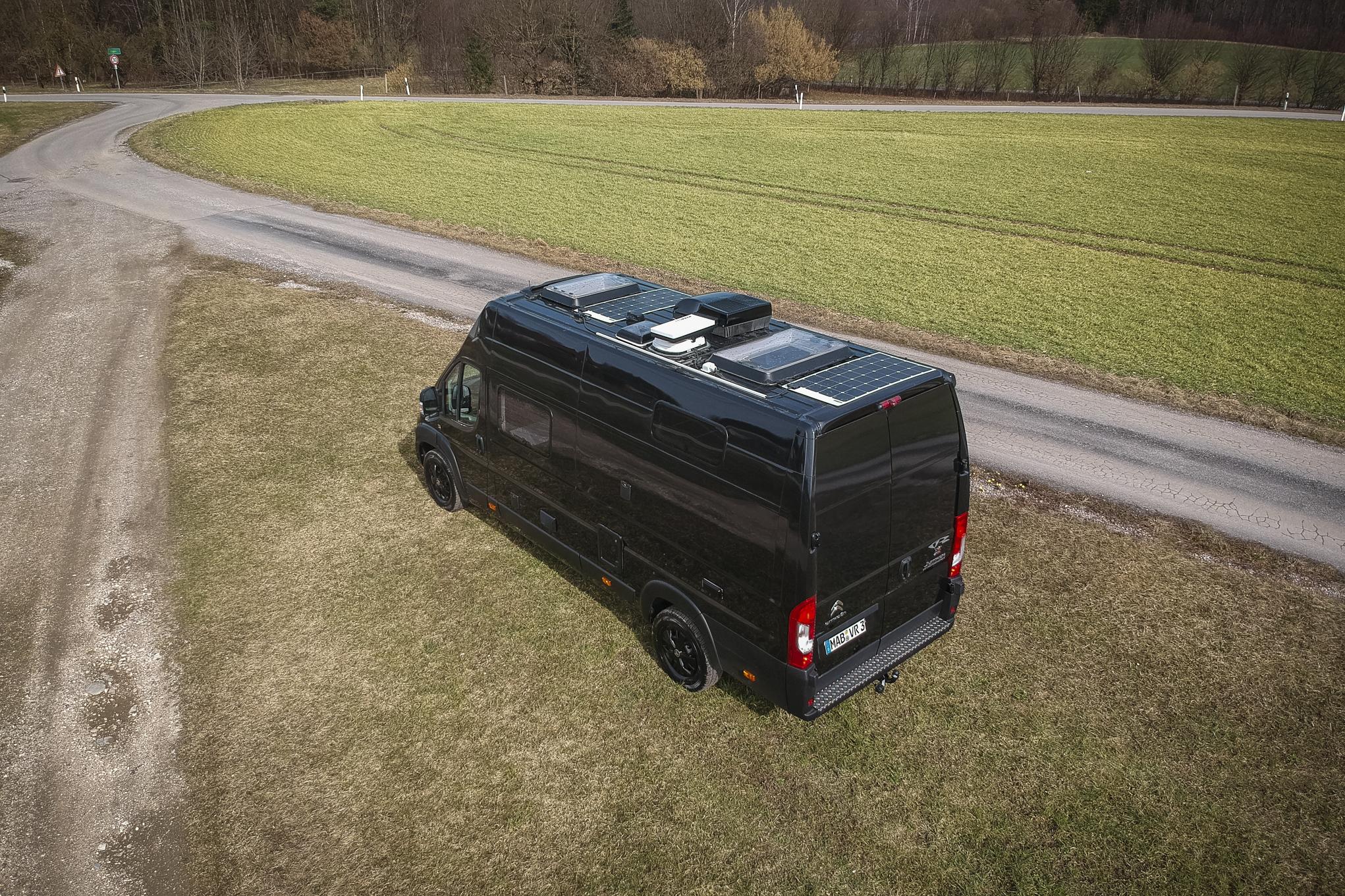 Renntransporter Luxus camper motorrad garage heckgarage wohmobil unter 3,5t