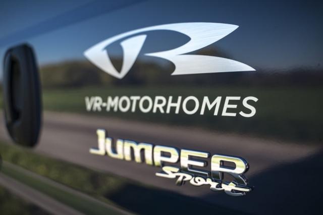 VR motorhomes logo jumper sport citroen fiat ducato peugeot boxer luxus van transporter