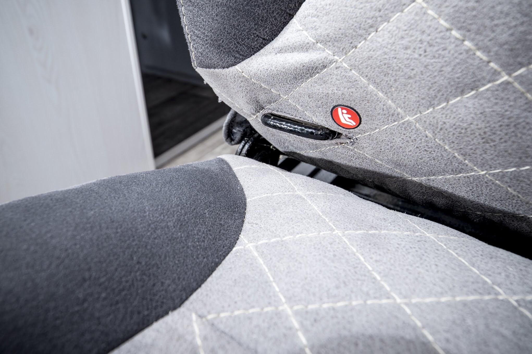 vr rundsitzecke kindersitz geräumig gemütlich camper doppeksitzbank isofix bequem verstellbar in alle richtungen