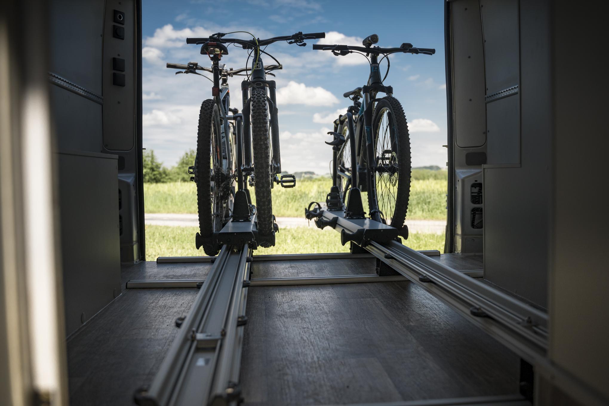 thule VR-e-Bike-Solution Motorhome wohnmobil Camper für Ebiker bikes motorräder motorrad roller scooter e-scooter