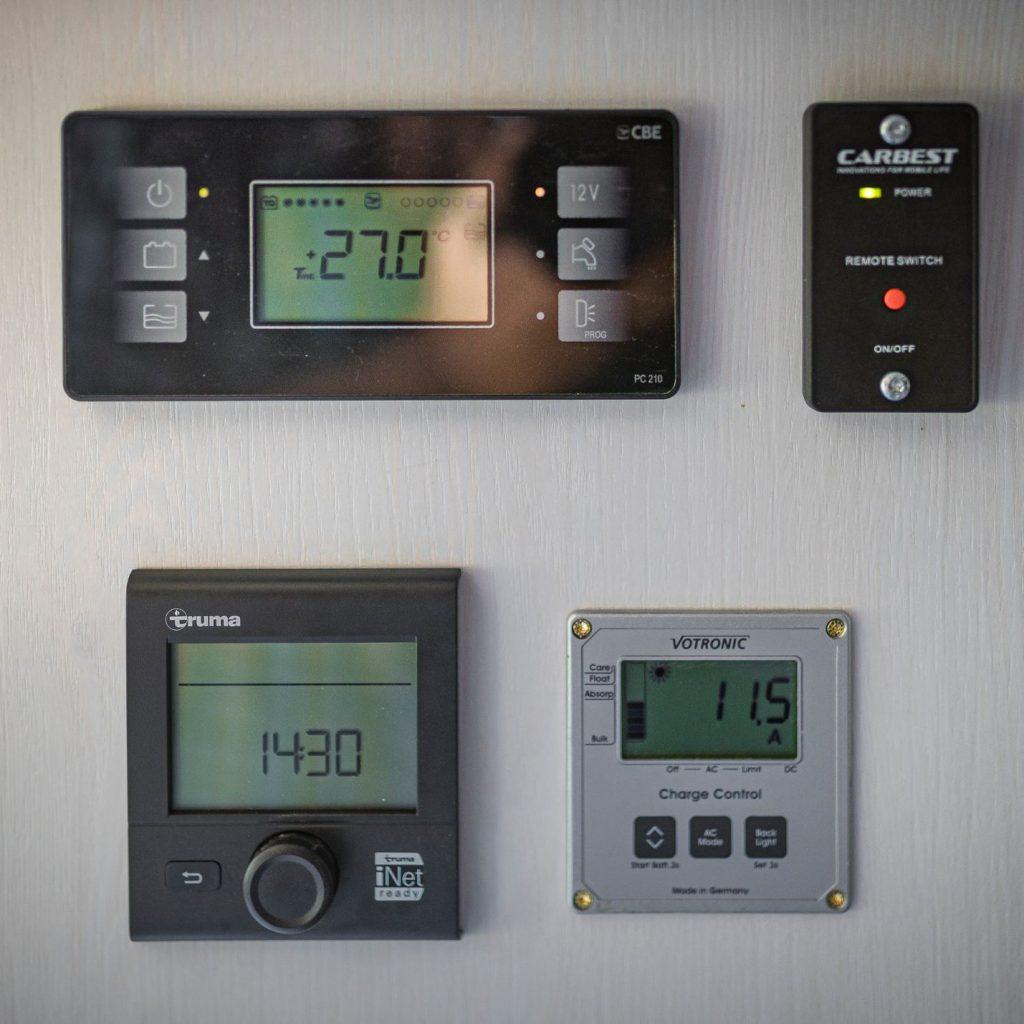 MAN TGE Allrad Wohnmobil Klimaanlage