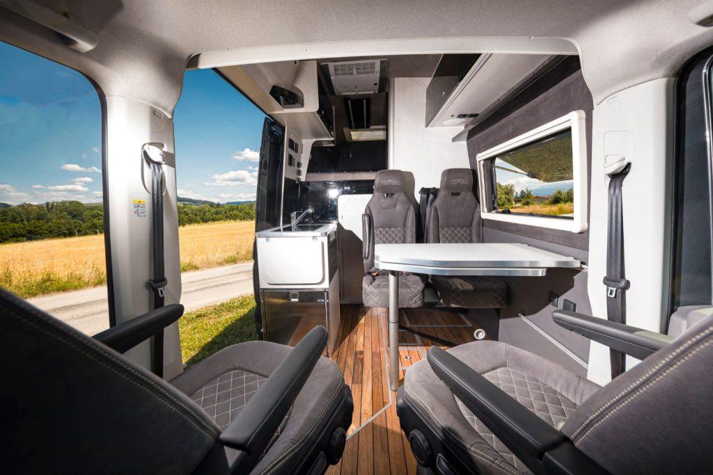 MAN TGE Luxus Wohnwagen