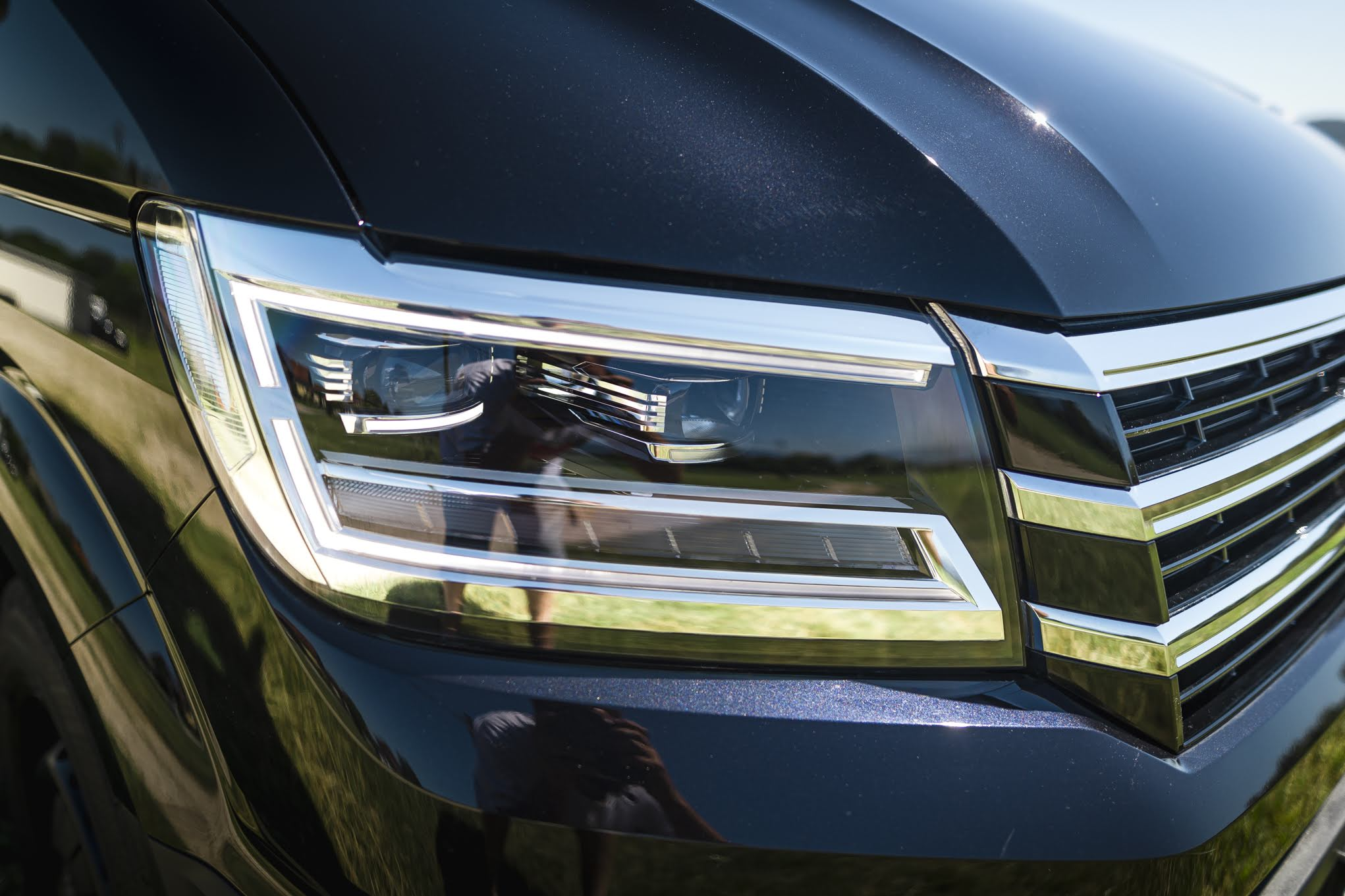 VW Crafter Compact Lichter