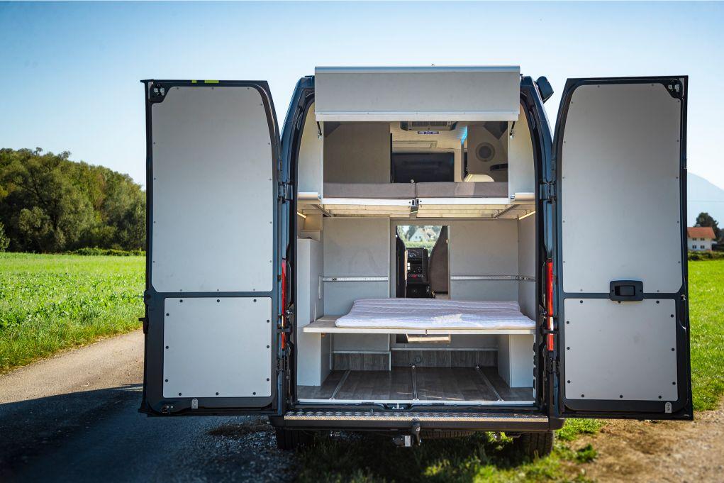 Camping Garagenbett