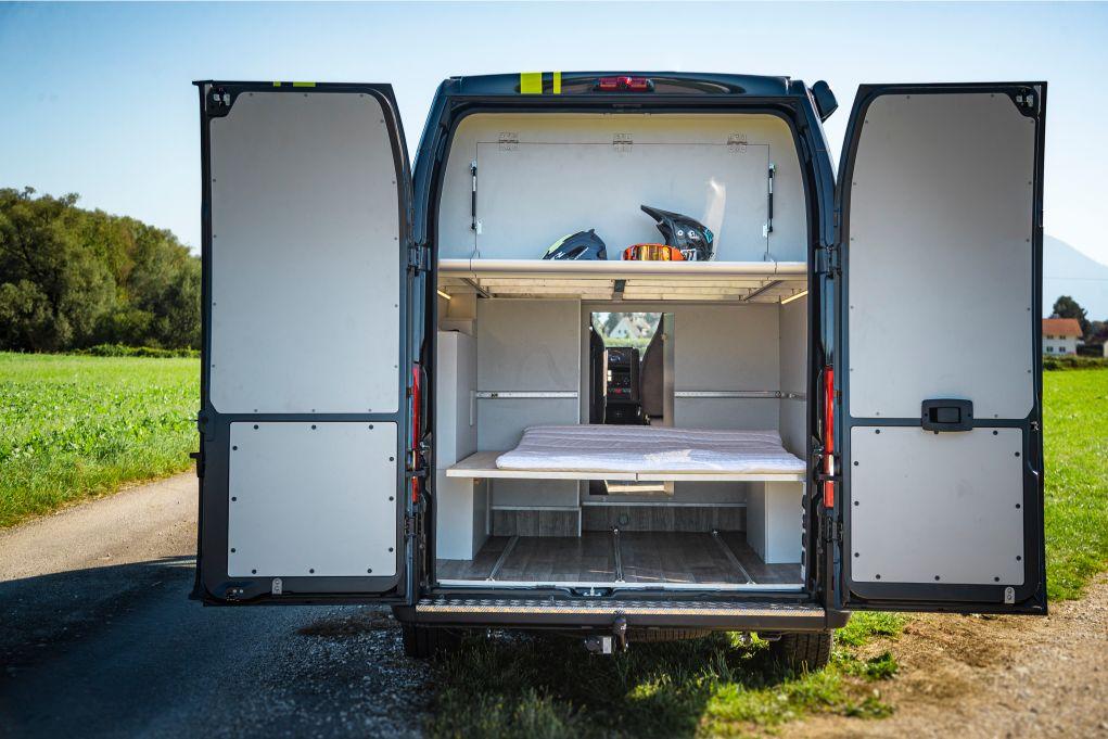 Camping Gästebett