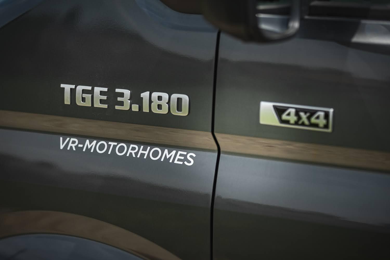 MAN TGE 3.180 Motorhome