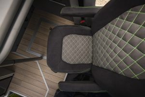 VR-Motorhome custom Sitzbezug