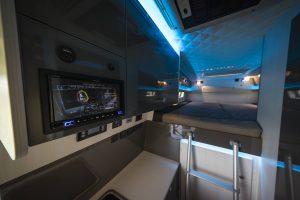 VR Allrad Motorhome Bett