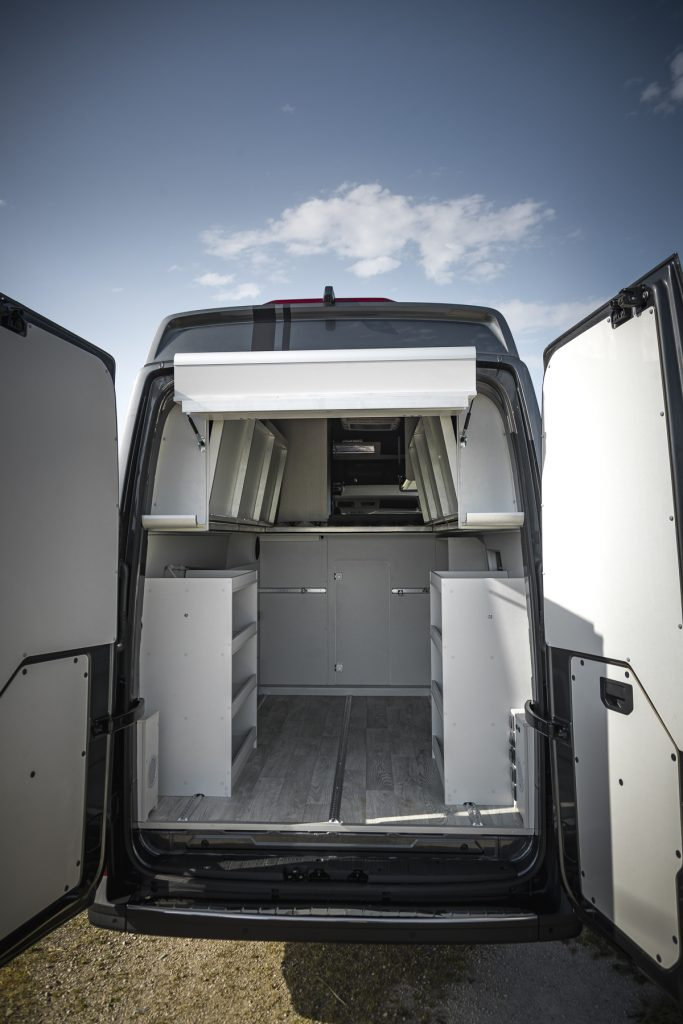 MAN Lang – Garage komplett offen - VR Motorhomes 2022