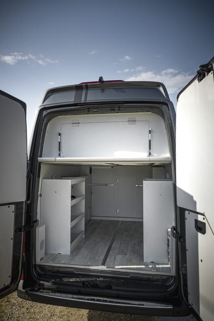 MAN Lang – Garage mit Schränke - VR Motorhomes 2022