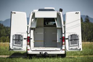 campingstühle halterungen hecktüren camper wohnmobil patentiertes bettsystem